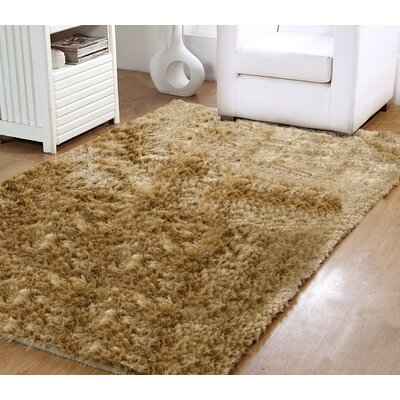 Horst Shag Hand-Woven Taupe Indoor/Outdoor Area Rug