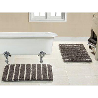 Brazier Memory Foam Bath Rug Color: Charcoal