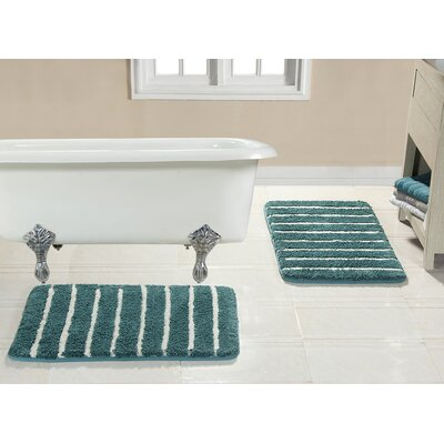 Brazier Memory Foam Bath Rug Color: Aqua