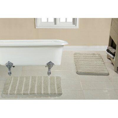 Brazier Memory Foam Bath Rug Color: Beige