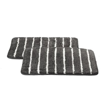 Chi Memory Foam Bath Rug Color: Charcoal
