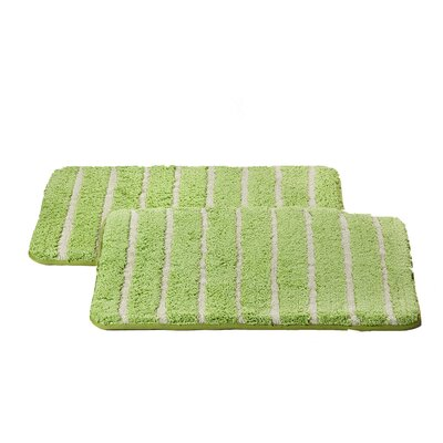 Chi Memory Foam Bath Rug Color: Sage