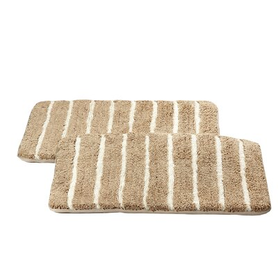 Chi Memory Foam Bath Rug Color: Taupe