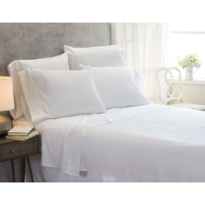 Cayetano Luxury Ultra Comfort Bed Sheet Set Size: Twin, Color: White