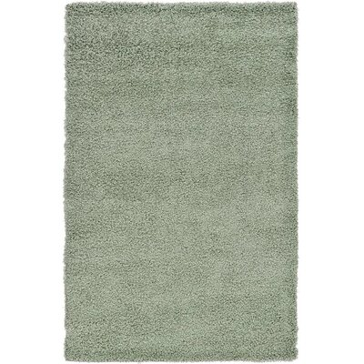 Affinity Hand-woven Sage Area Rug Rug Size: Rectangle 4 x 6