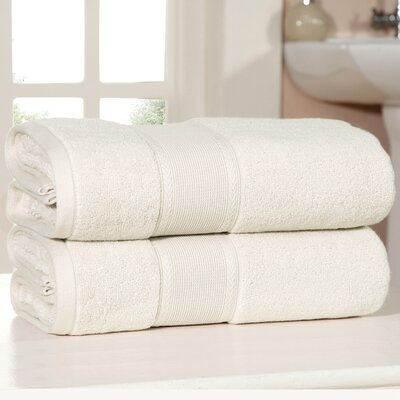 Bemadette Ultra Soft Zero Twist Bath Towels Color: Blush
