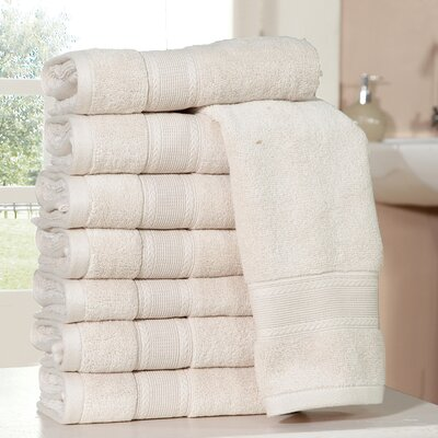 Bathilda Ultra Soft Zero Twist Hand Towels Color: Blush