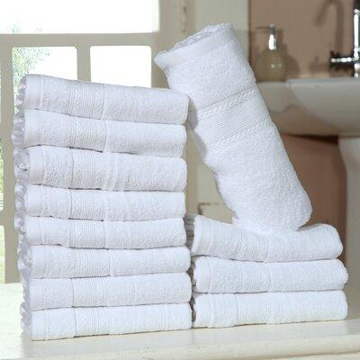 Bednarek Ultra Soft Zero Twist Washcloths Color: White