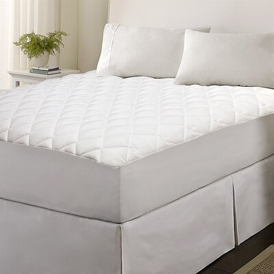 Classic Micro 1 Polyester Mattress Pad Size: King
