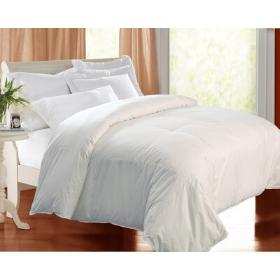 240 Thread Count Down Comforter Size: Twin