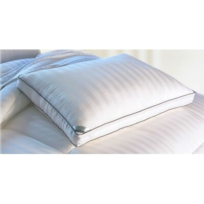 Essentials 300 Thread Count Viscose Rayon from Bamboo Mulit-Pinstripe Down Alternative Polyfill Queen Pillow