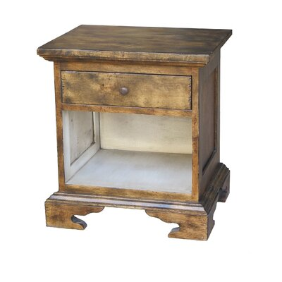 Aperto 1 Drawer Nightstand