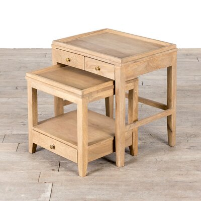 Franco 2 Piece Nesting Tables