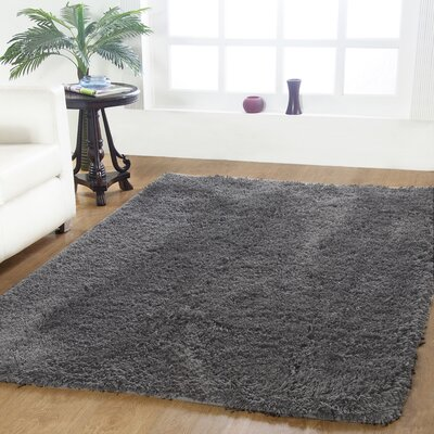 Affinity Hand-woven Grey Area Rug Size: 96