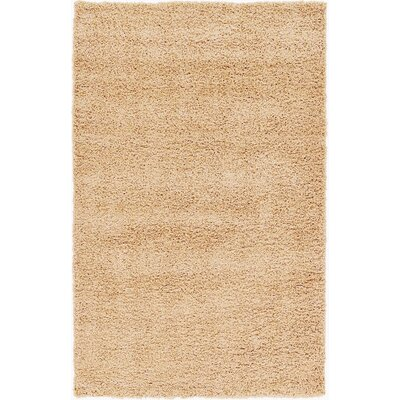 Affinity Hand-woven Beige Area Rug Rug Size: Rectangle 5 x 8