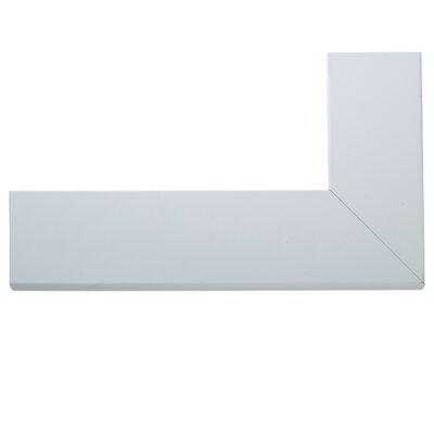 Brayden Studio Oversized White Floor Mirror