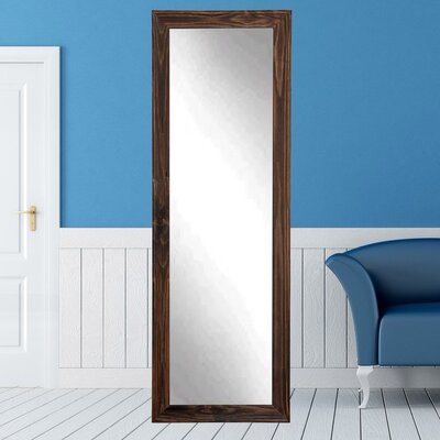 "Rustic Full Length Mirror Size: 70.5"" H X 21"" W X 1.5"" D"