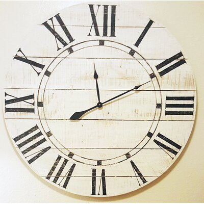 Oversized Farmhouse Wall Clock