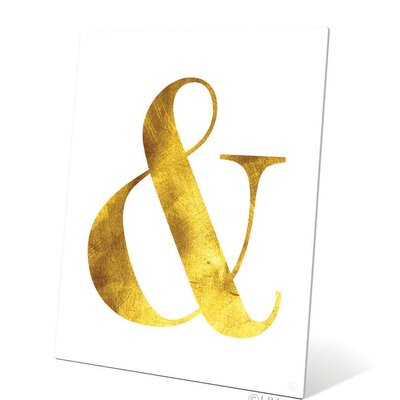 Ampersand Textual Art Size: 10