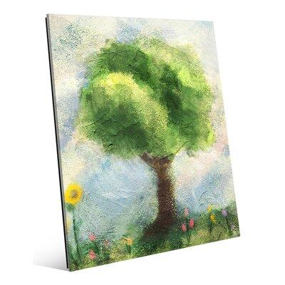 'Garden Tree Spring' Painting Print LND0000004GLS08X10XXX