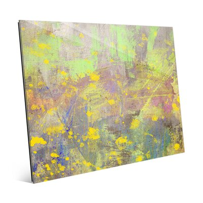 'Blossoming Spring' Painting Print on Plaque ABS0000891GLS11X14XXX