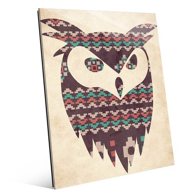 Tribal Owl Graphic Art SWT0000026GLS08X10XXX