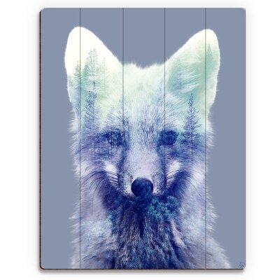 Forest Fox Graphic Art on Plaque ZOO0000062PLK09X12XXX
