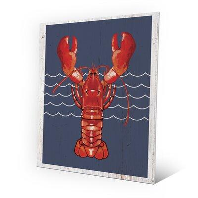 Lobster Life Main Painting Print RBH0000057MTL08X10XXX