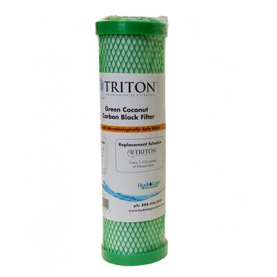 Triton Replacement Green Coconut Carbon Block Filter