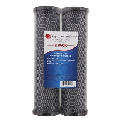 10 Micron Filter Carbon-W-2PK