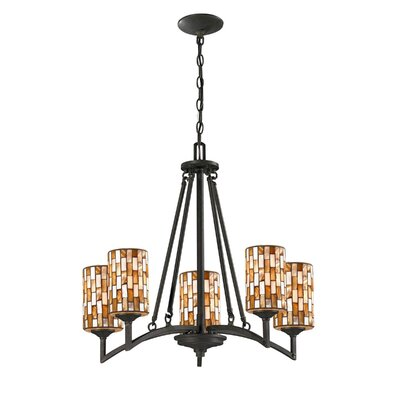 Myriad 5-Light Shaded Chandelier