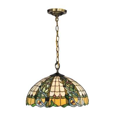Asure Tiffany 3-Light Inverted Pendant