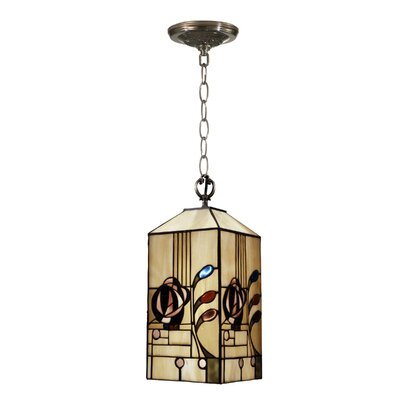 Rose Boudoir Mack 1-Light Mini Foyer Pendant