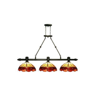 Groveland Dragonfly 3-Light Kitchen Island Pendant