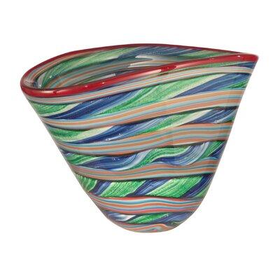 Striped Decorative Bowl AV12047