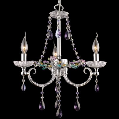 Rowley 3-Light Crystal Chandelier