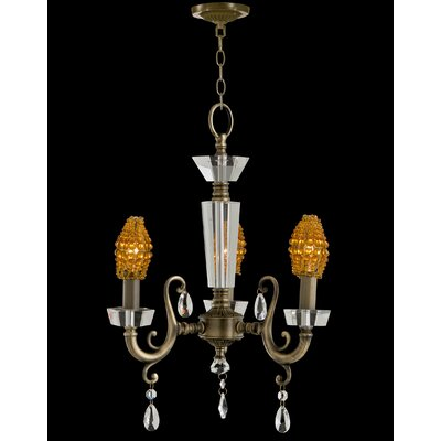 Prato 3-Light Candle-Style Chandelier