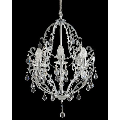 Buchanon 6-Light Crystal Chandelier