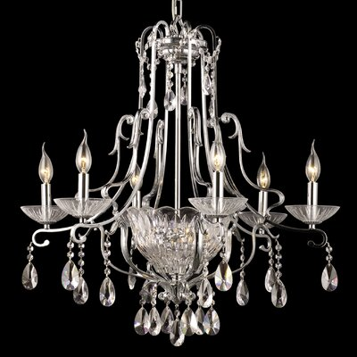 Oxford 8-Light Crystal Chandelier
