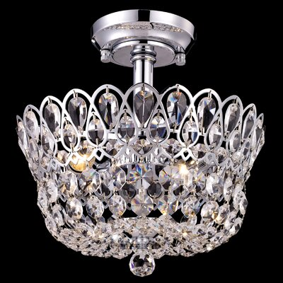 Mckinney 2-Light Semi Flush Mount