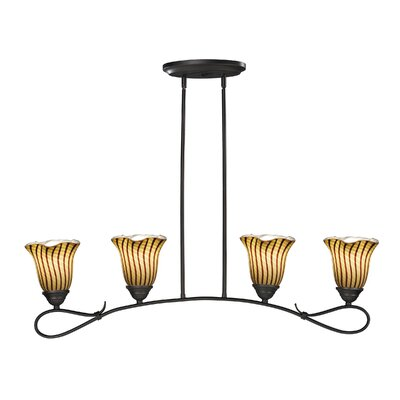 Valley Glen 4-Light Kitchen Island Pendant