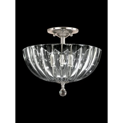 Sereno 3-Light Semi Flush Mount