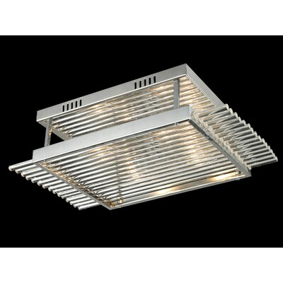 Berkshire 4-Light Flush Mount