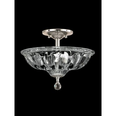 Golden Gate 3-Light Semi Flush Mount