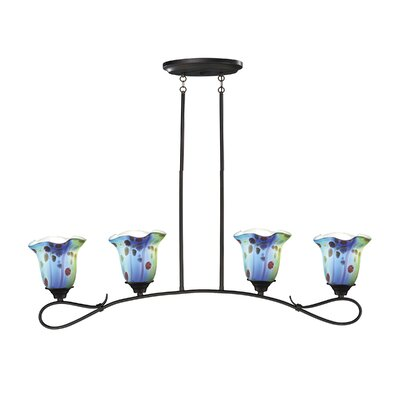 Morgan 4-Light Kitchen Island Pendant