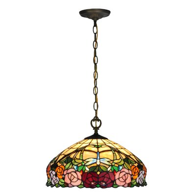 Zenia Rose 1-Light Inverted Pendant
