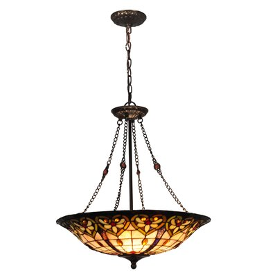 Mccartney 3-Light Inverted Pendant