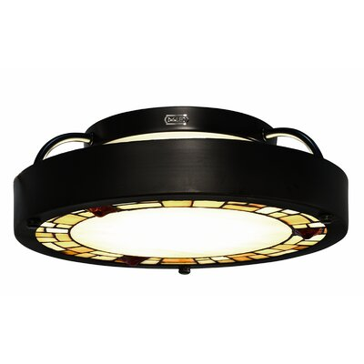 Quentin 1-Light Semi Flush Mount