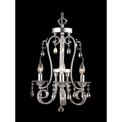 West Newton 3-Light Crystal Chandelier
