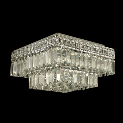 Crystal 5-Light Flush Mount